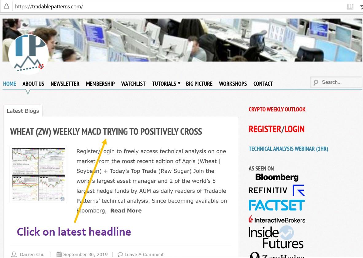Click on Latest Headline